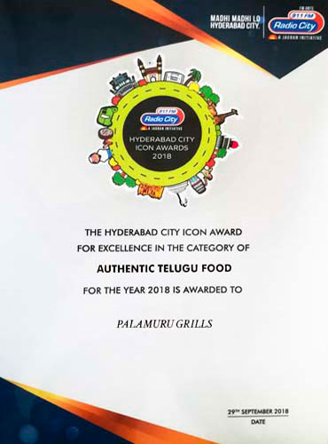 THE HYDERABAD CITY ICON AWARD